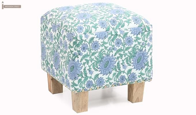 Duffet Side Stool (Multi Colour)-1