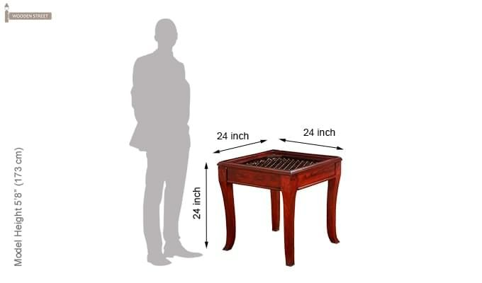 Faren Stool (Honey Finish)-5