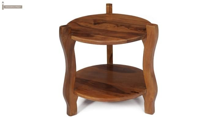 Finch Stool (Teak Finish)-2