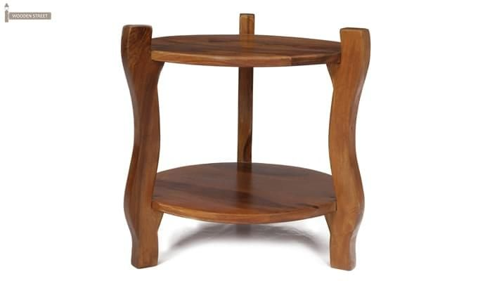 Finch Stool (Teak Finish)-3
