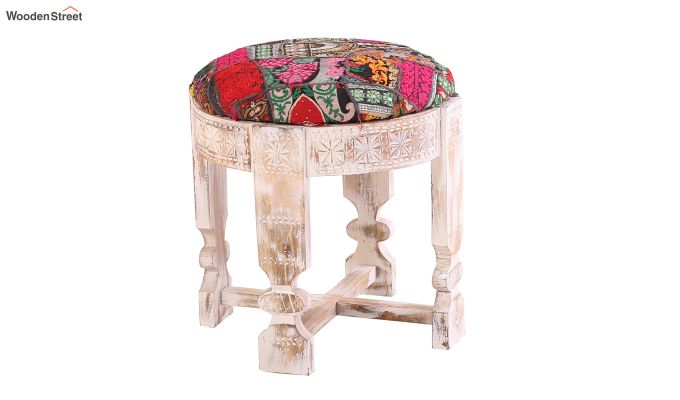 Floris Patchwork Stool-3