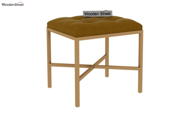 Floss Cross-Legged Stool (Chestnut Brown)-2