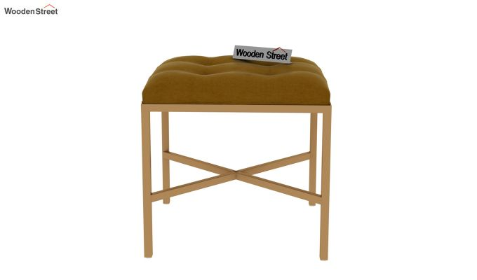Floss Cross-Legged Stool (Chestnut Brown)-3