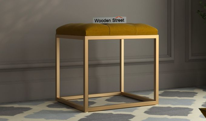 Floss Stool (Olive Gold)-1