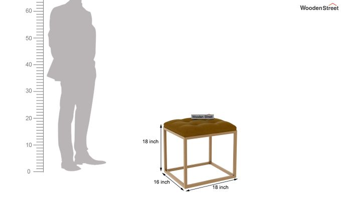 Floss Stool (Olive Gold)-4