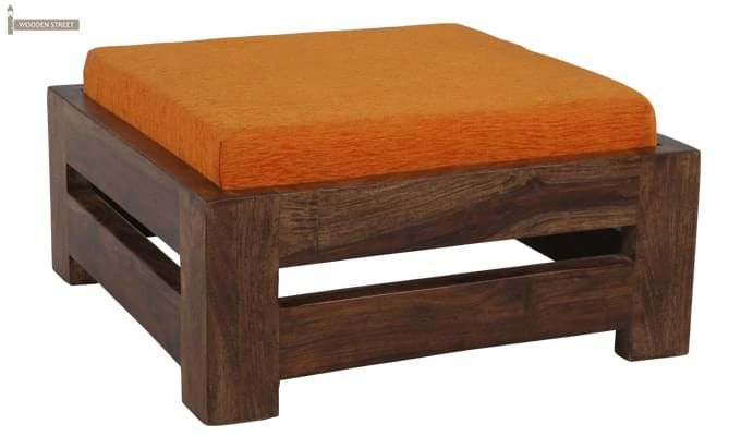 Wesley Stool (Teak Finish)-3