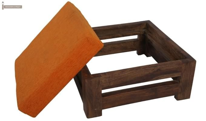 Wesley Stool (Teak Finish)-5