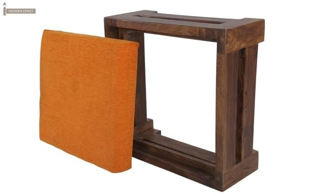 Wesley Stool (Teak Finish)-7