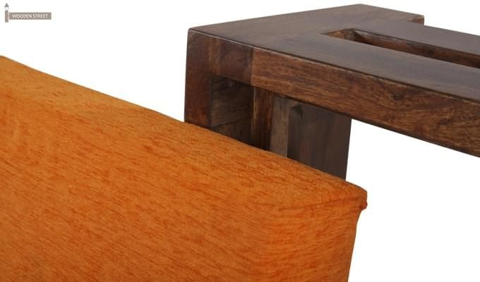 Wesley Stool (Teak Finish)-8