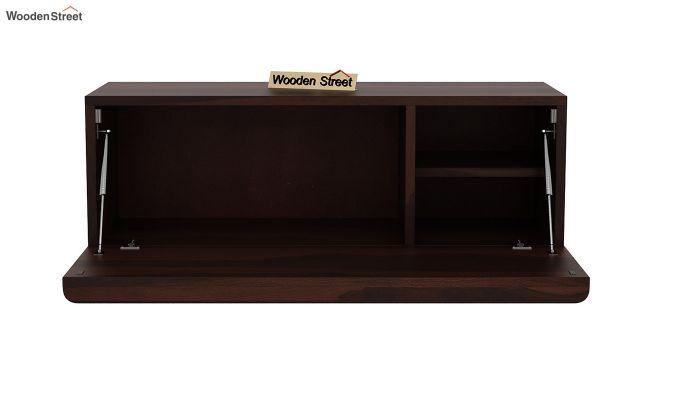 Ace Wall-Mounted Study Table (Walnut Finish)-6