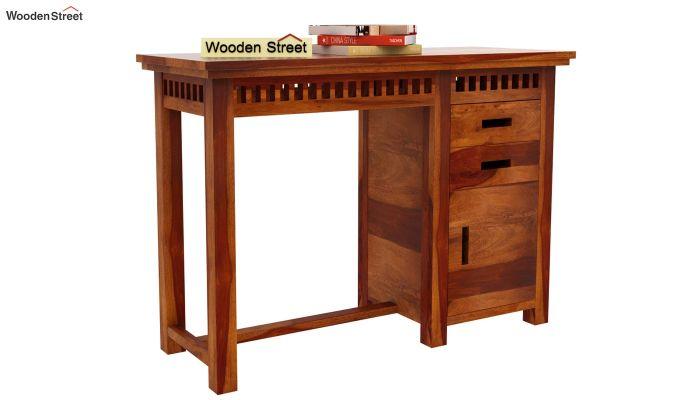 Adolph Study Table (Honey Finish)-2