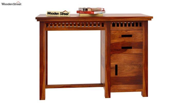 Adolph Study Table (Honey Finish)-3