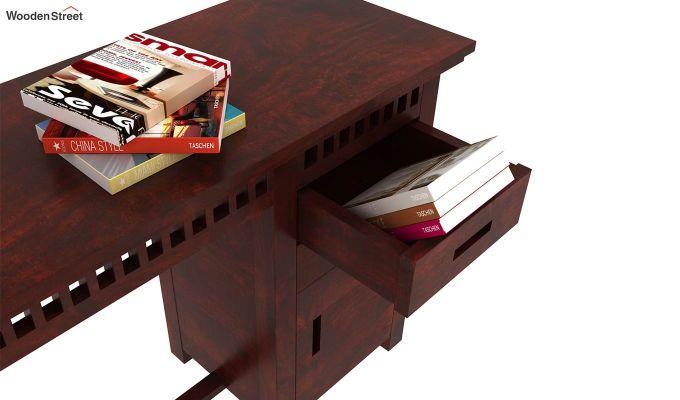 Adolph Study Table (Mahogany Finish)-3