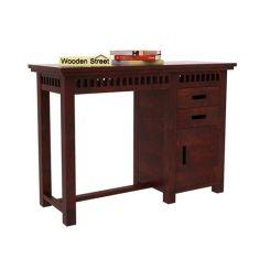Adolph Study Table (Mahogany Finish)