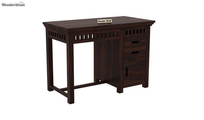 Adolph Study Table (Walnut Finish)-2