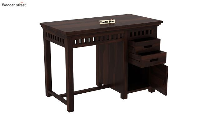 Adolph Study Table (Walnut Finish)-4