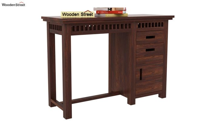 Adolph Study Table (Walnut Finish)-1