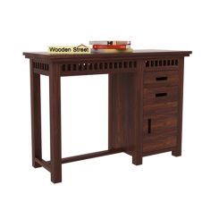 Adolph Study Table (Walnut Finish)