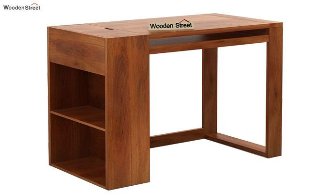 Alkin Study Table (Honey Finish)-3