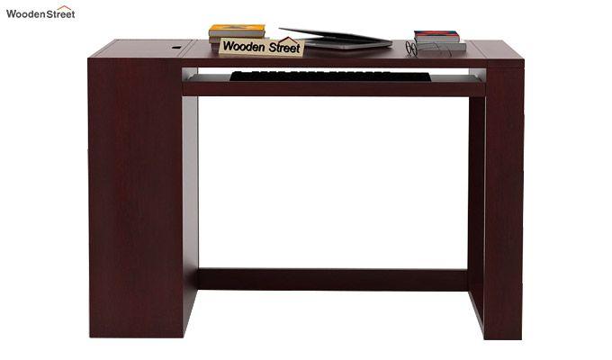 Alkin Office Table (Mahogany Finish)-2