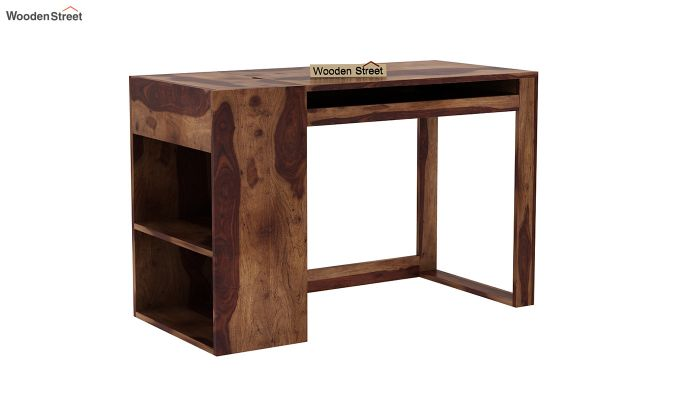 Alkin Office Table (Teak Finish)-2