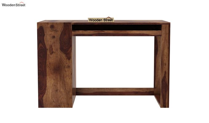 Alkin Office Table (Teak Finish)-3