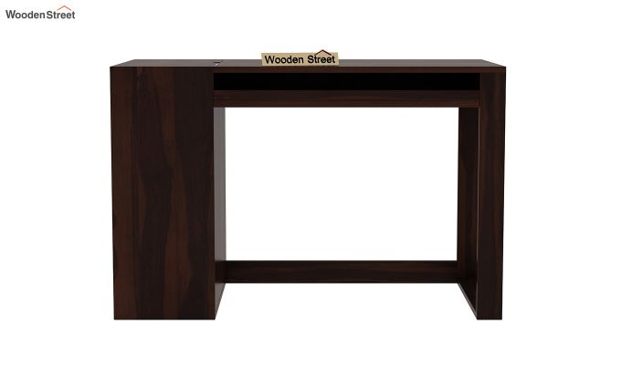Alkin Office Table (Walnut Finish)-3