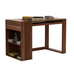 Alkin Study Table (Teak Finish)