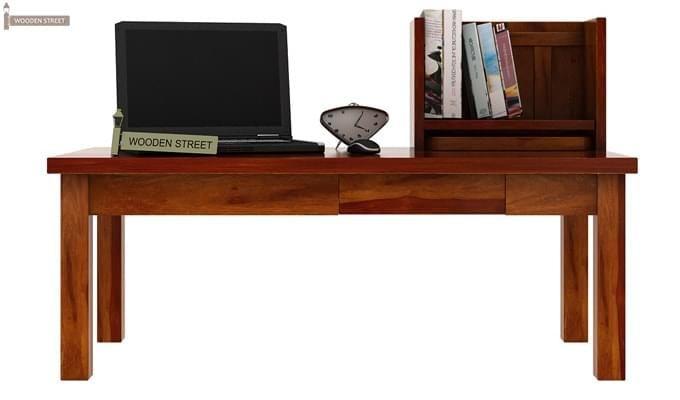 Amgen Study Table (Honey Finish)-2