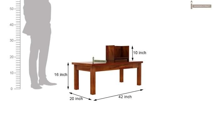 Amgen Study Table (Honey Finish)-8
