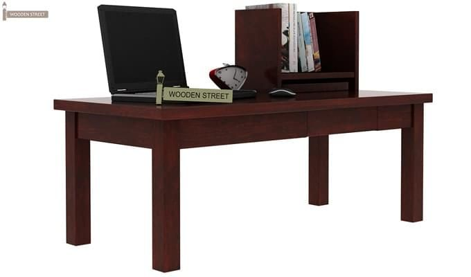 Amgen Study Table (Mahogany Finish)-2