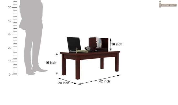 Amgen Study Table (Mahogany Finish)-3