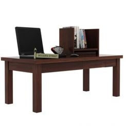 Amgen Study Table (Walnut Finish)