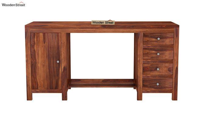 Brason Study Table (Honey Finish)-3
