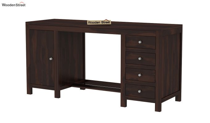 Brason Study Table (Walnut Finish)-2