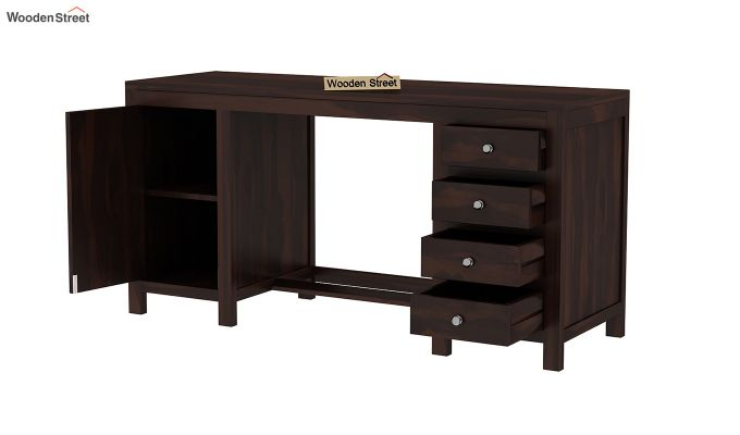 Brason Study Table (Walnut Finish)-4