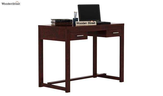 Bruce Study Table (Mahogany Finish)-1