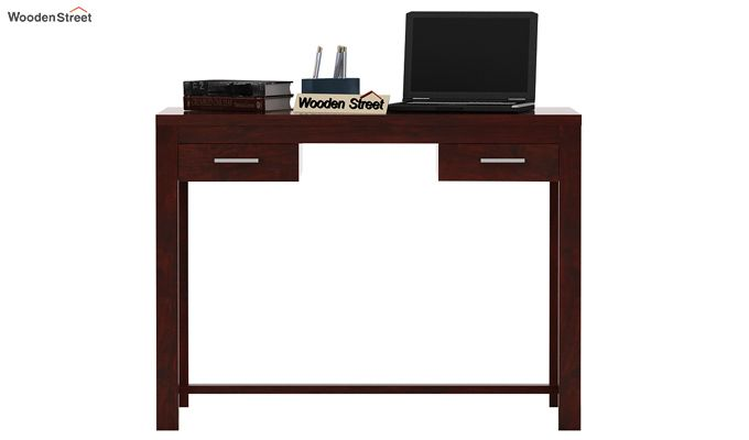 Bruce Study Table (Mahogany Finish)-2