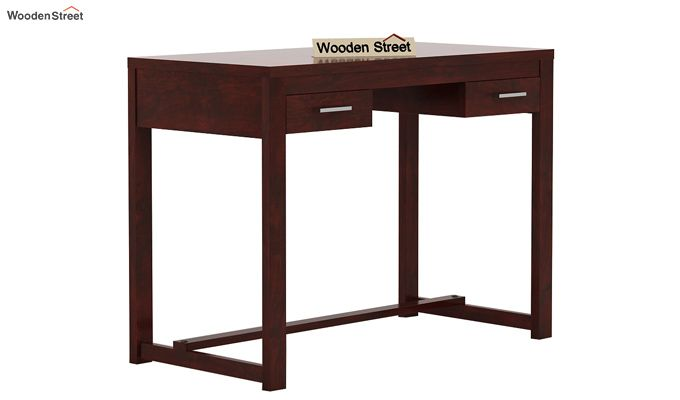 Bruce Study Table (Mahogany Finish)-3