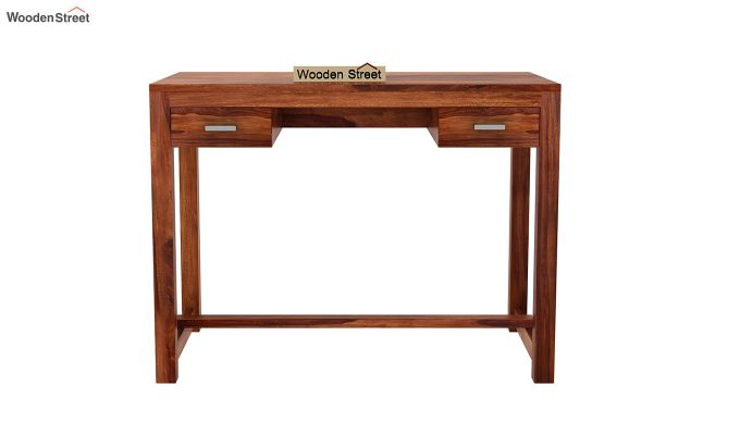 Bruce Study Table (Honey Finish)-3