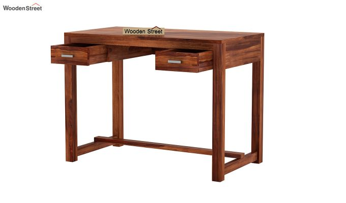 Bruce Study Table (Honey Finish)-4