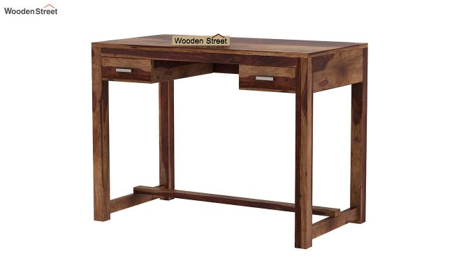 Bruce Study Table (Teak Finish)-2