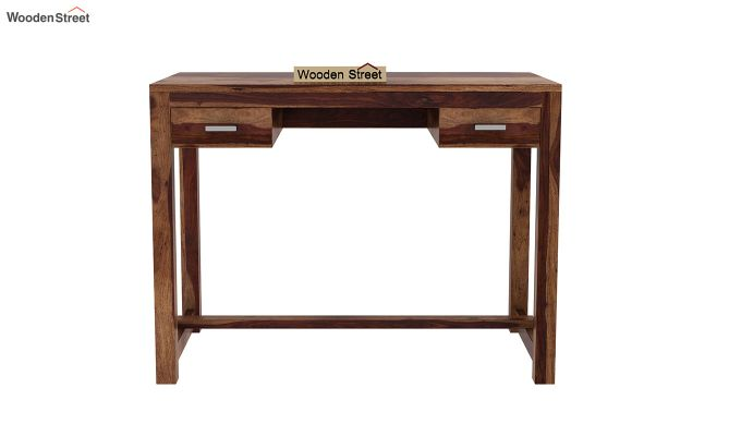 Bruce Study Table (Teak Finish)-3