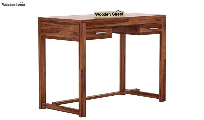 Bruce Study Table (Teak Finish)-3
