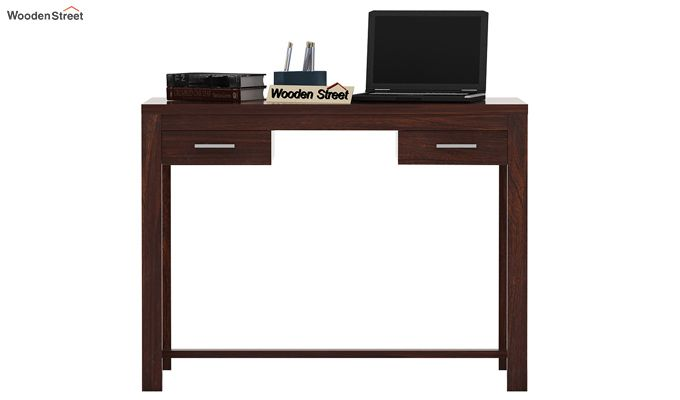 Bruce Study Table (Walnut Finish)-2