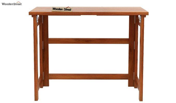 Calvin Study Table (Honey Finish)-4