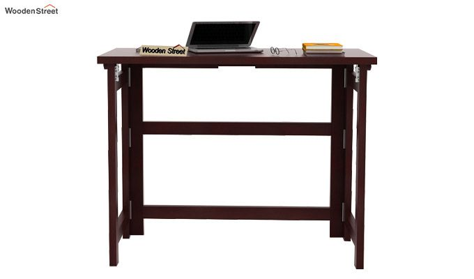 Calvin Study Table (Mahogany Finish)-2