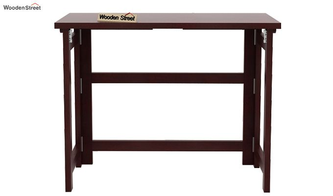 Calvin Study Table (Mahogany Finish)-4