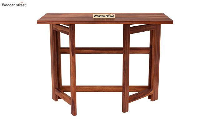 Calvin Study Table (Honey Finish)-5