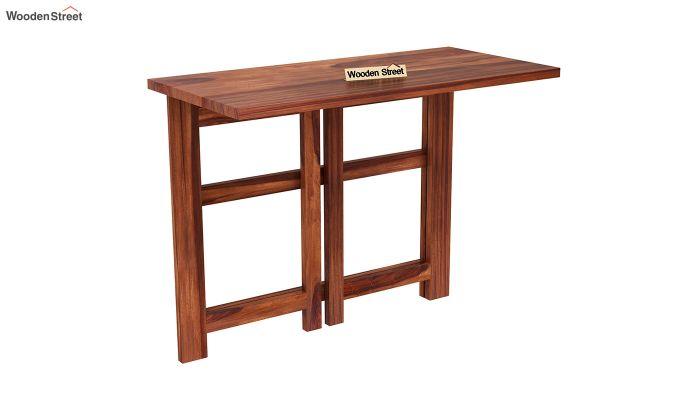 Calvin Study Table (Honey Finish)-6